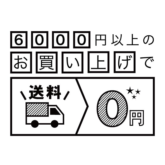 6000円以上ご購入で送料無料!